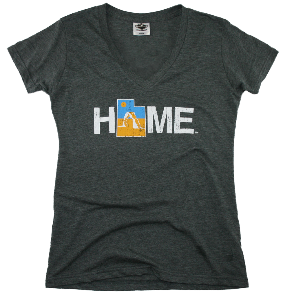 UTAH LADIES V-NECK | HOME | ARCH