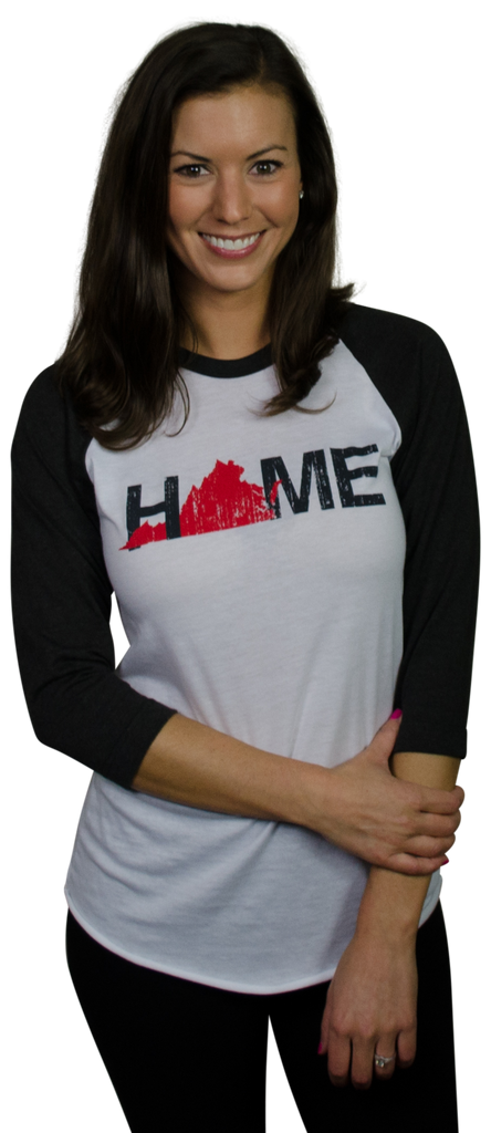 VIRGINIA 3/4 SLEEVE | HOME | RED