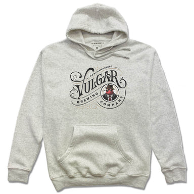 VULGAR BREWING CO | HOODIE | BLACK COLOR FACE LOGO