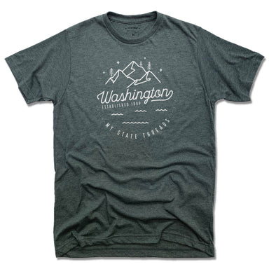 WASHINGTON | UNISEX TEE | CREST