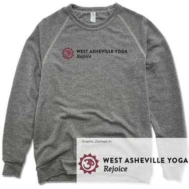 WEST ASHEVILLE YOGA | FLEECE SWEATSHIRT | LOGO