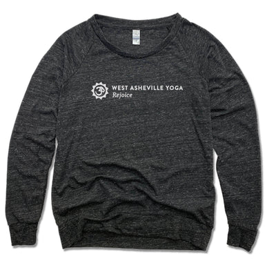 WEST ASHEVILLE YOGA | LADIES SLOUCHY | LOGO