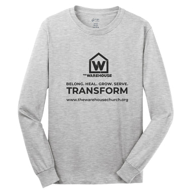 The Warehouse Church | Long Sleeve | Monogram Black