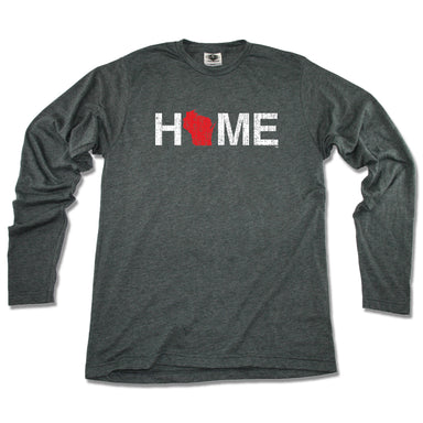 WISCONSIN LONG SLEEVE TEE | HOME | RED