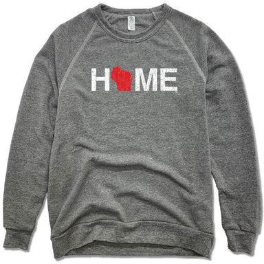 WISCONSIN SWEATSHIRT | HOME | RED