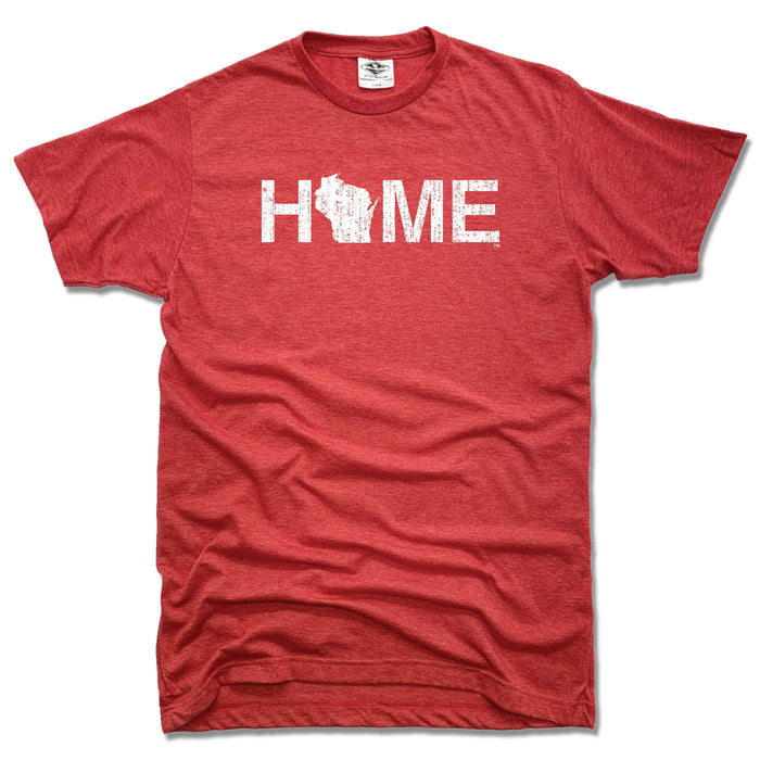 WISCONSIN RED TEE | HOME | WHITE