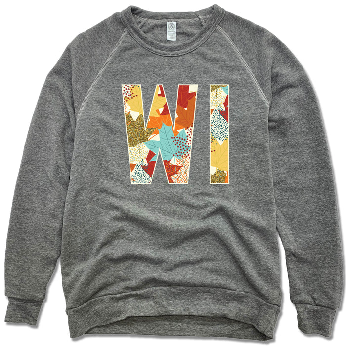 Wisconsin Fall Foliage - Fleece Sweatshirt