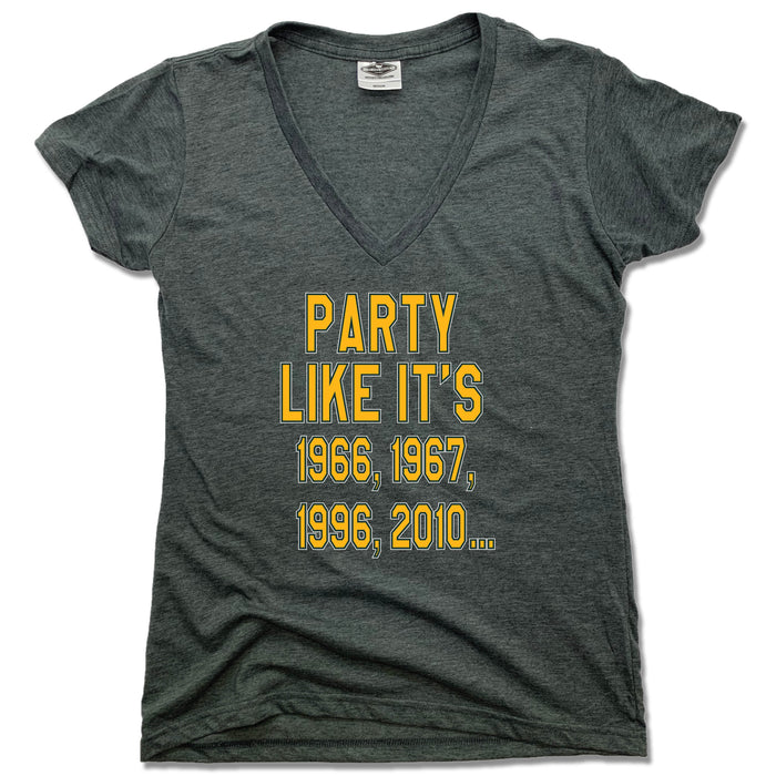 Wisconsin Party Like It's - Ladies' Tee