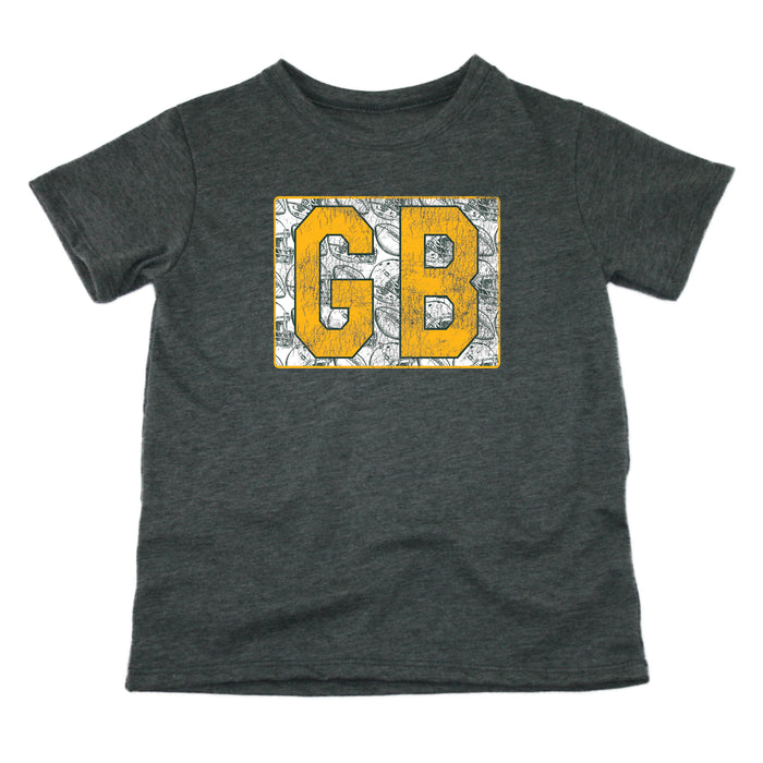Wisconsin Vintage Football - Kids' Tee