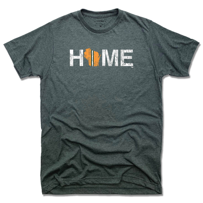Wisconsin Home Stripe - Unisex Tee
