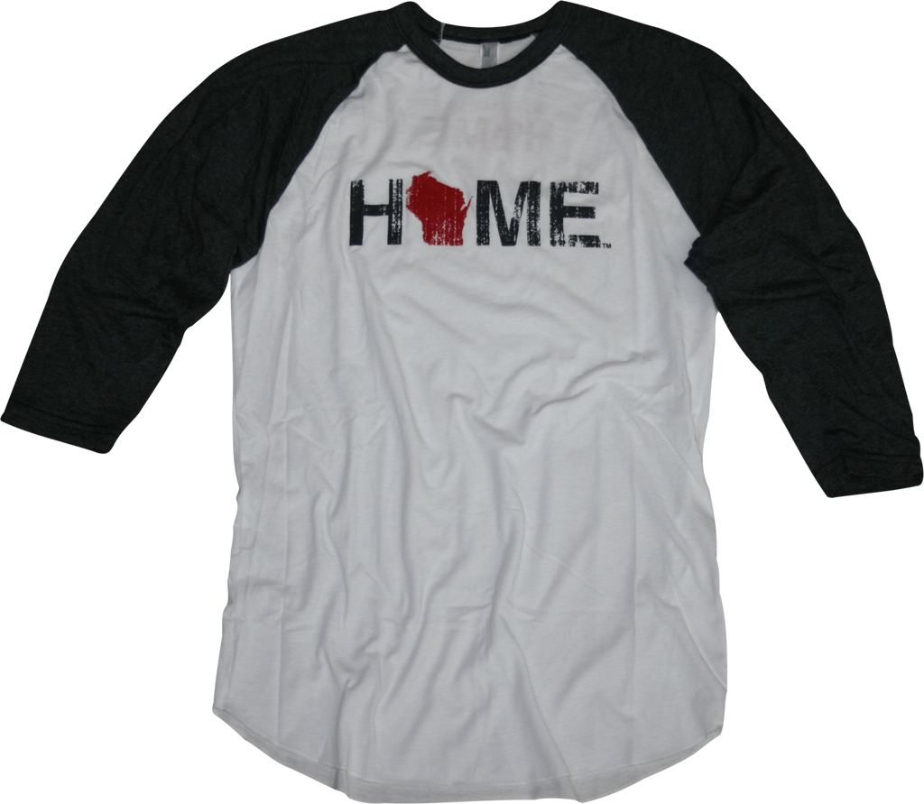 WISCONSIN 3/4 SLEEVE | HOME | RED