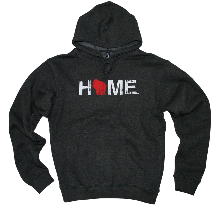 WISCONSIN HOODIE | HOME | RED