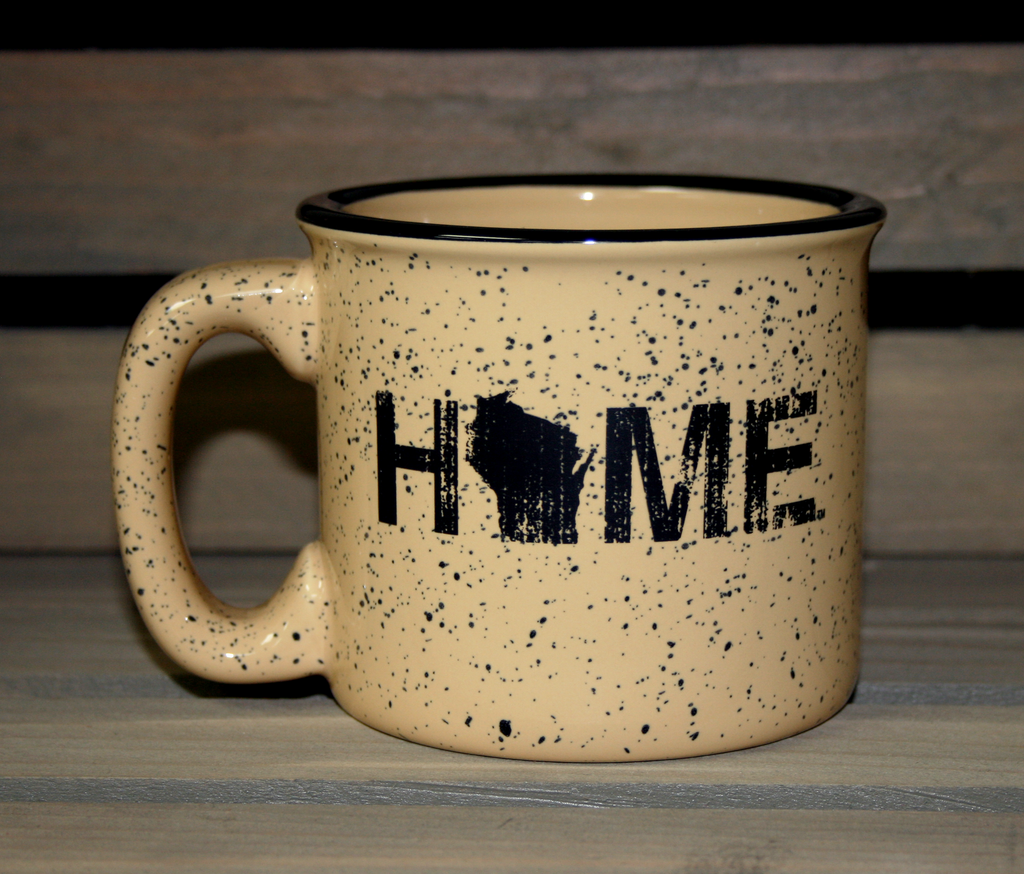 WISCONSIN COFFEE MUG | HOME | BLACK