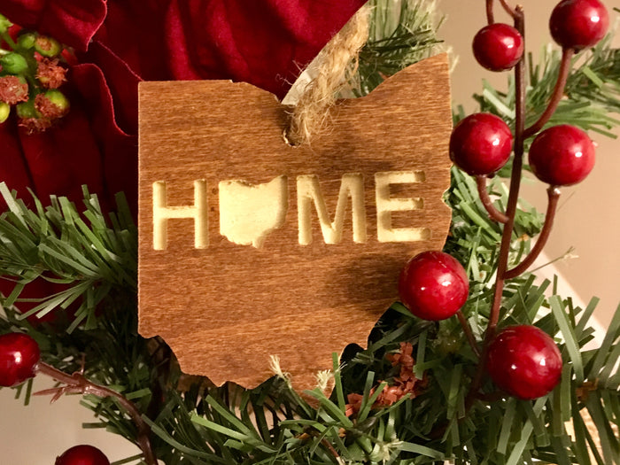 OHIO ORNAMENT | HOME | WOOD