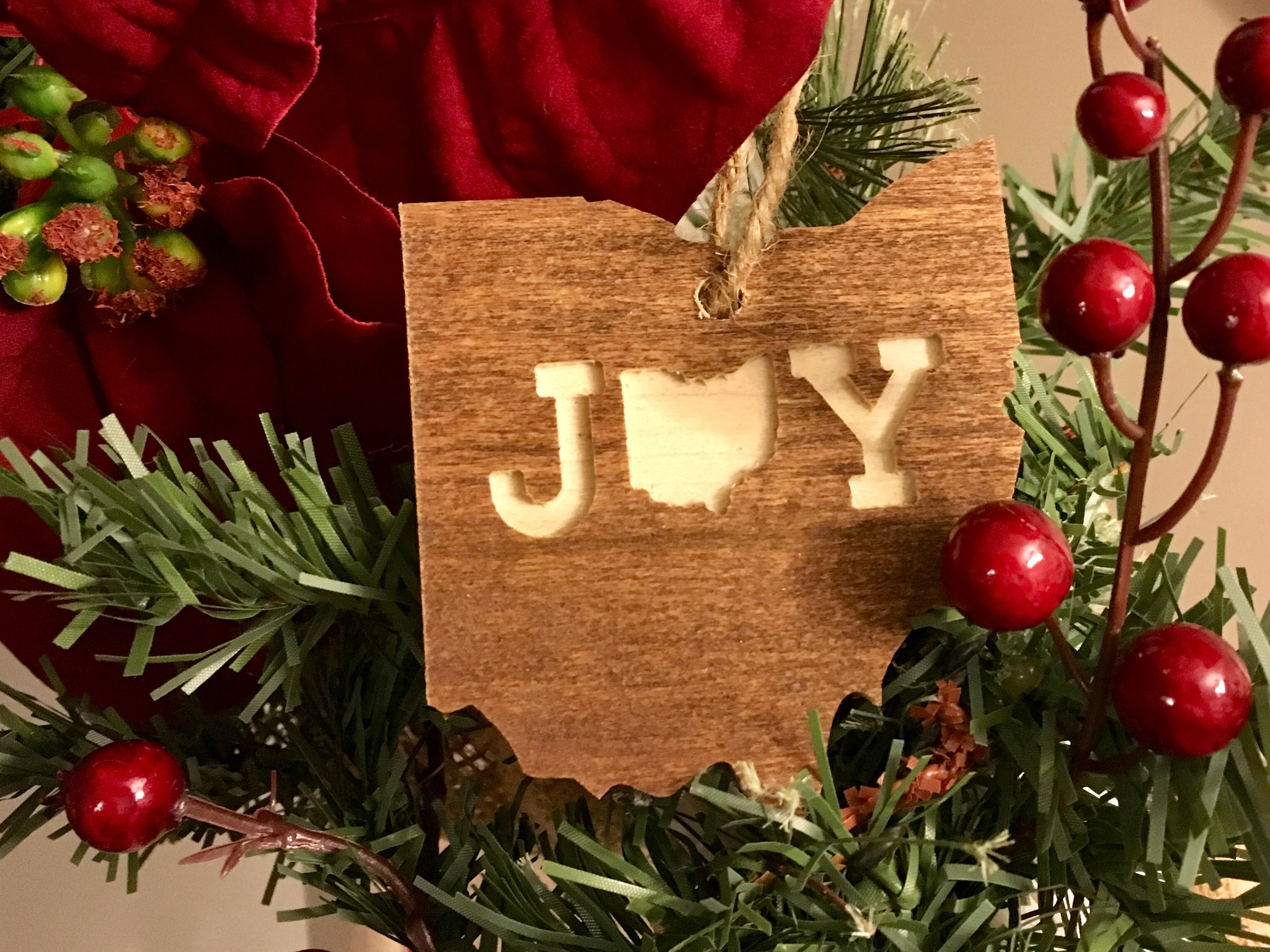 OHIO ORNAMENT | WOOD | JOY