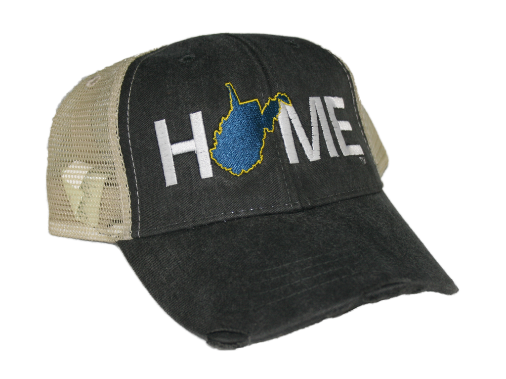 WEST VIRGINIA HAT | HOME | NAVY/GOLD