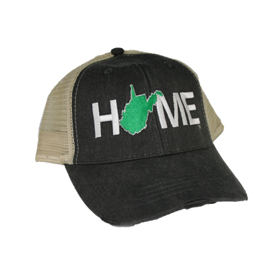 WEST VIRGINIA HAT | HOME | GREEN