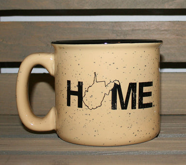 WEST VIRGINIA COFFEE MUG | HOME | BLACK
