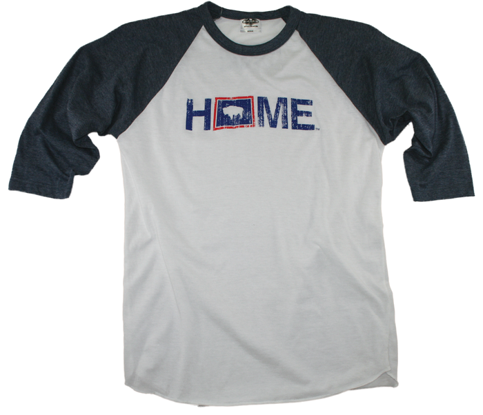 WYOMING 3/4 SLEEVE | HOME | FLAG