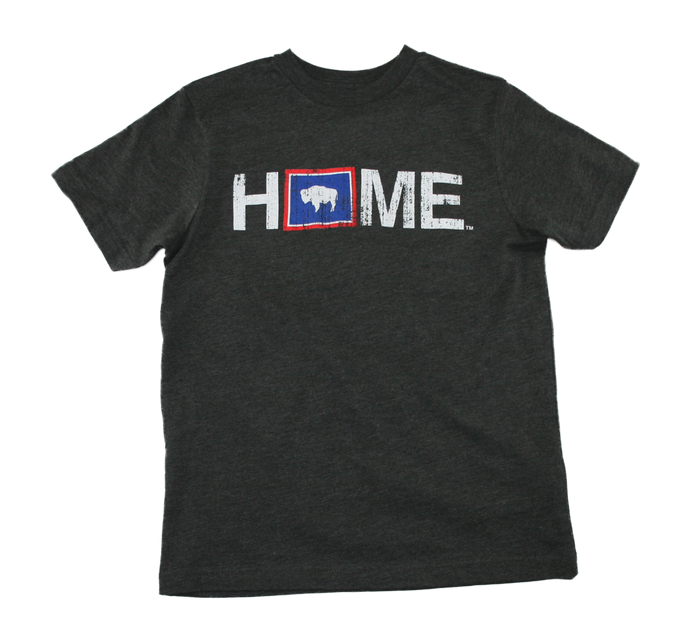 WYOMING YOUTH TEE | HOME | FLAG