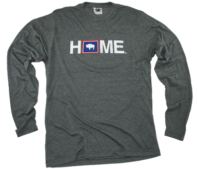 WYOMING LONG SLEEVE TEE | HOME | FLAG