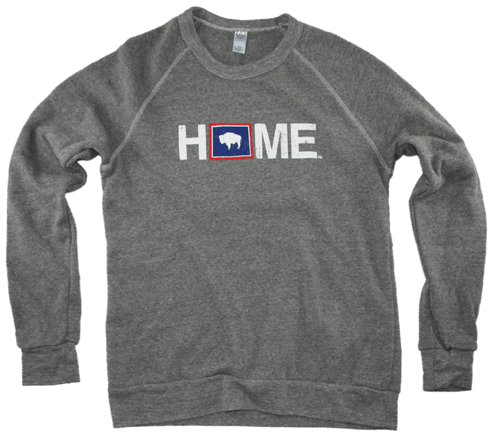 WYOMING SWEATSHIRT | HOME | FLAG