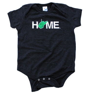WEST VIRGINIA ONESIE | HOME | GREEN