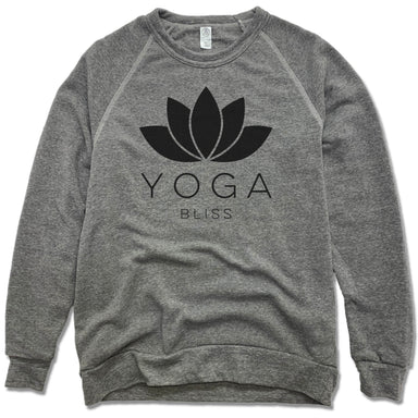 YOGA BLISS | FLEECE SWEATSHIRT | BLACK LOTUS