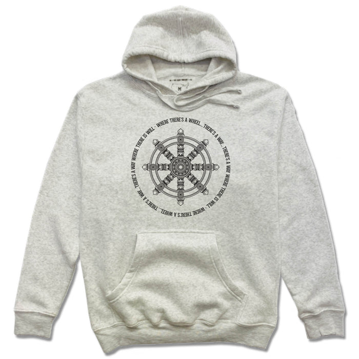 YOGA SHALA NASHVILLE | HOODIE | WHERE THERE'S A WHEEL
