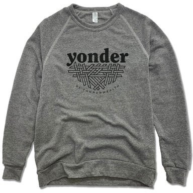YONDER | FLEECE SWEATSHIRT | BLACK LOGO