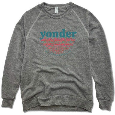YONDER | FLEECE SWEATSHIRT | COLOR LOGO