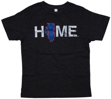 Illinois Youth Tee | Chicago Stitches | Blue/Red