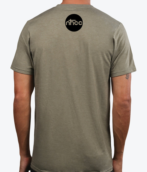NHCC | UNISEX OLIVE Recycled Tri-Blend | CROSS