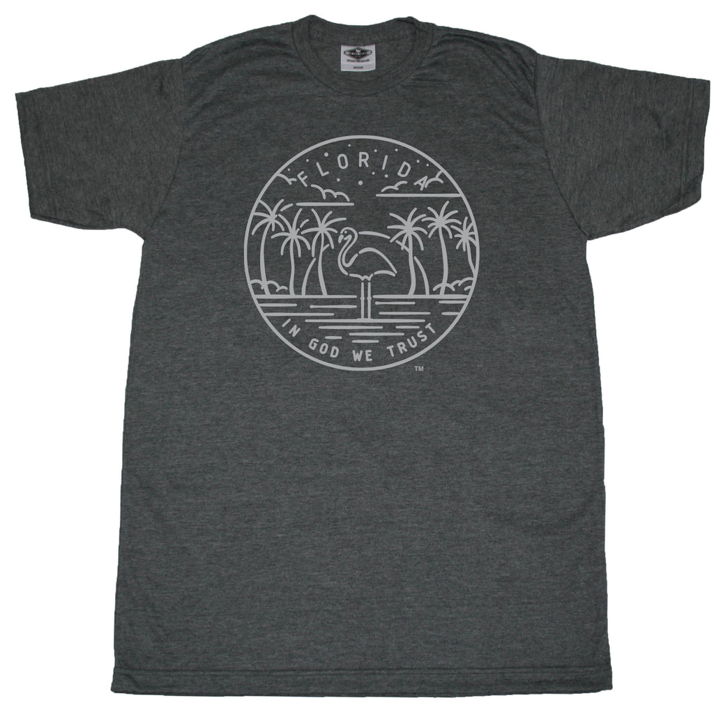 FLORIDA TEE | STATE SEAL | IN GOD WE TRUST