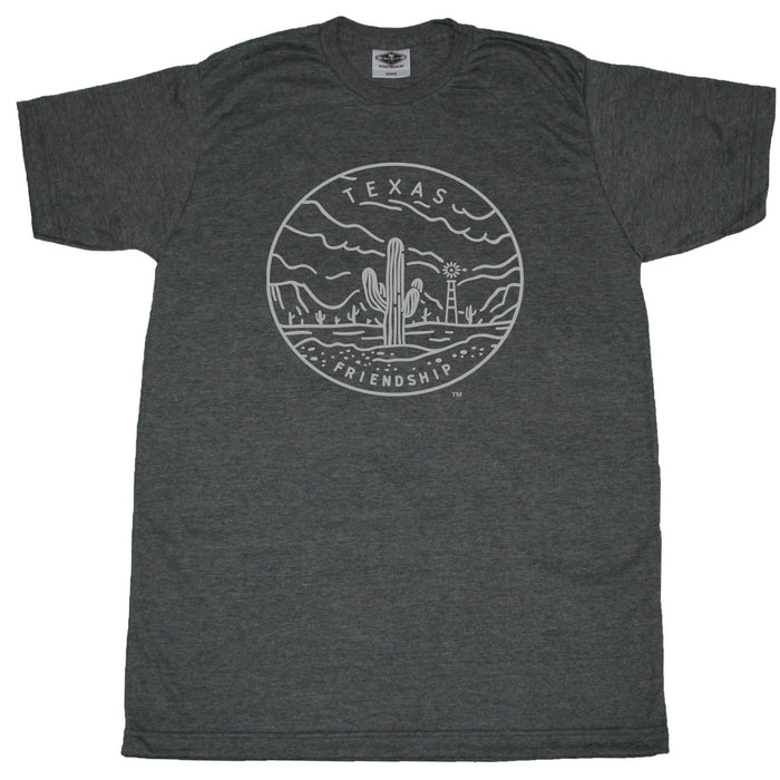 TEXAS TEE | STATE SEAL | FRIENDSHIP