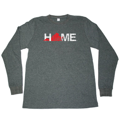 VIRGINIA LONG SLEEVE TEE | HOME | RED - My State Threads