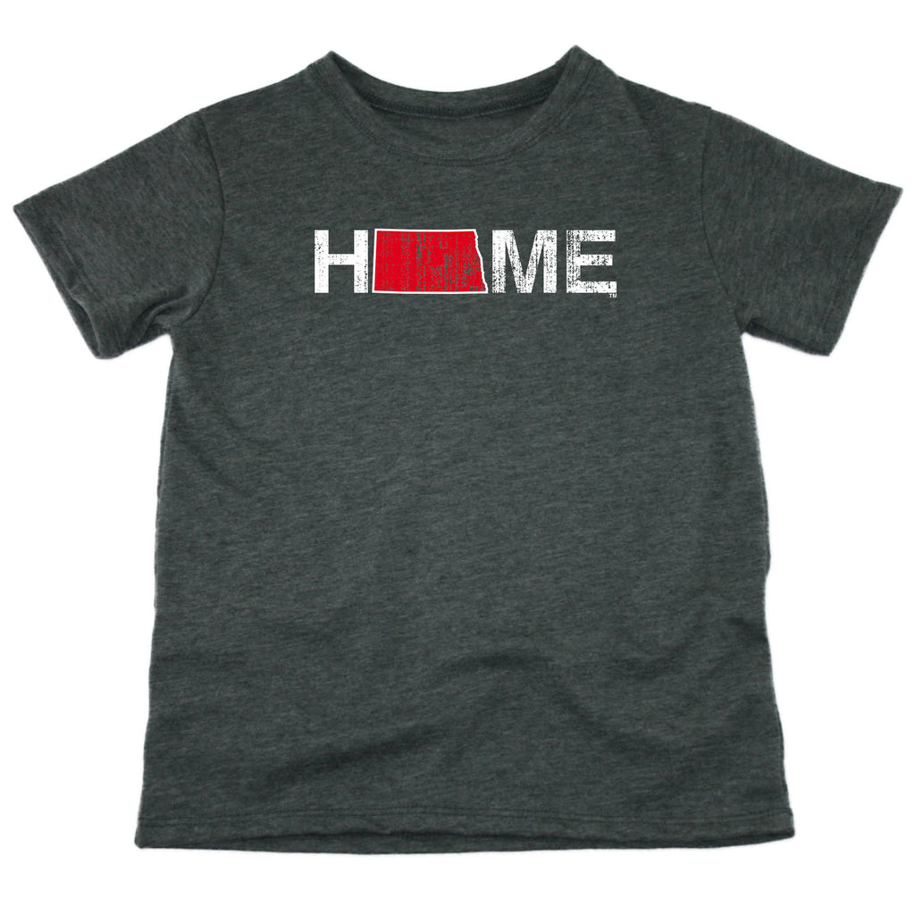 NORTH DAKOTA KIDS TEE | HOME | RED