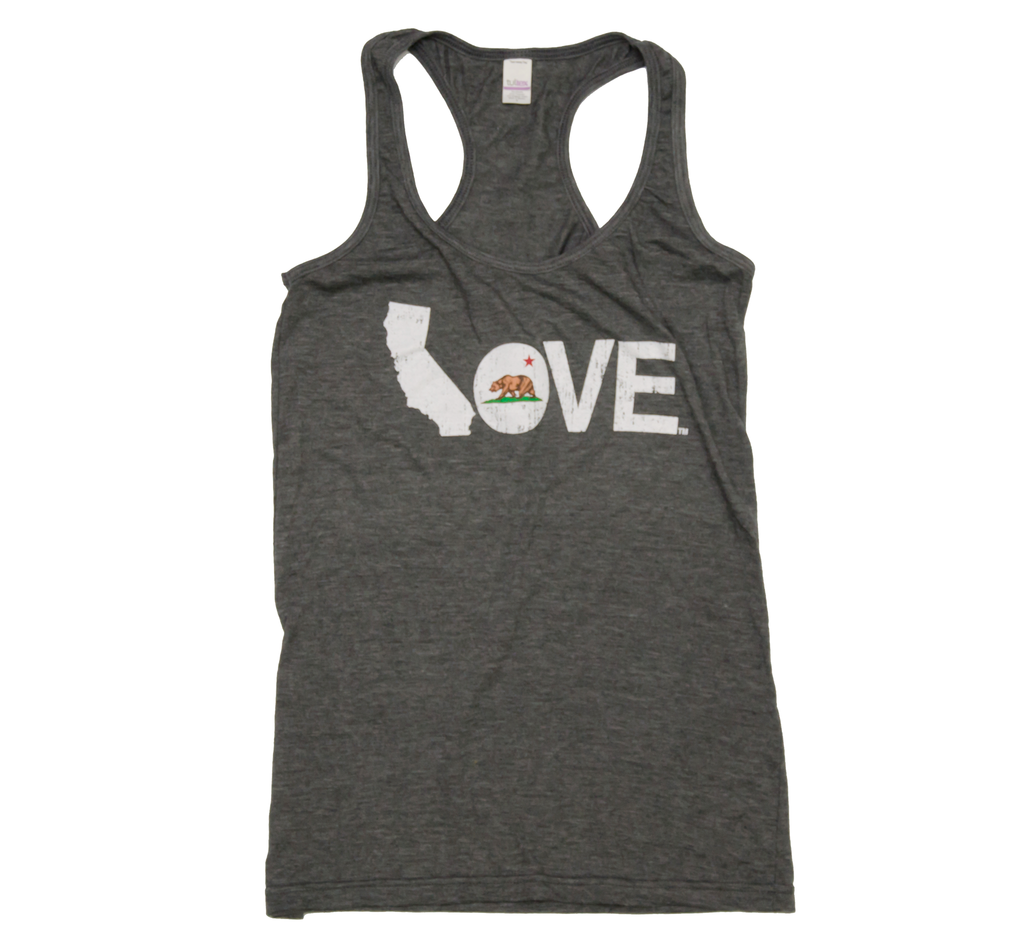 CALIFORNIA LADIES TANK | LOVE | FLAG