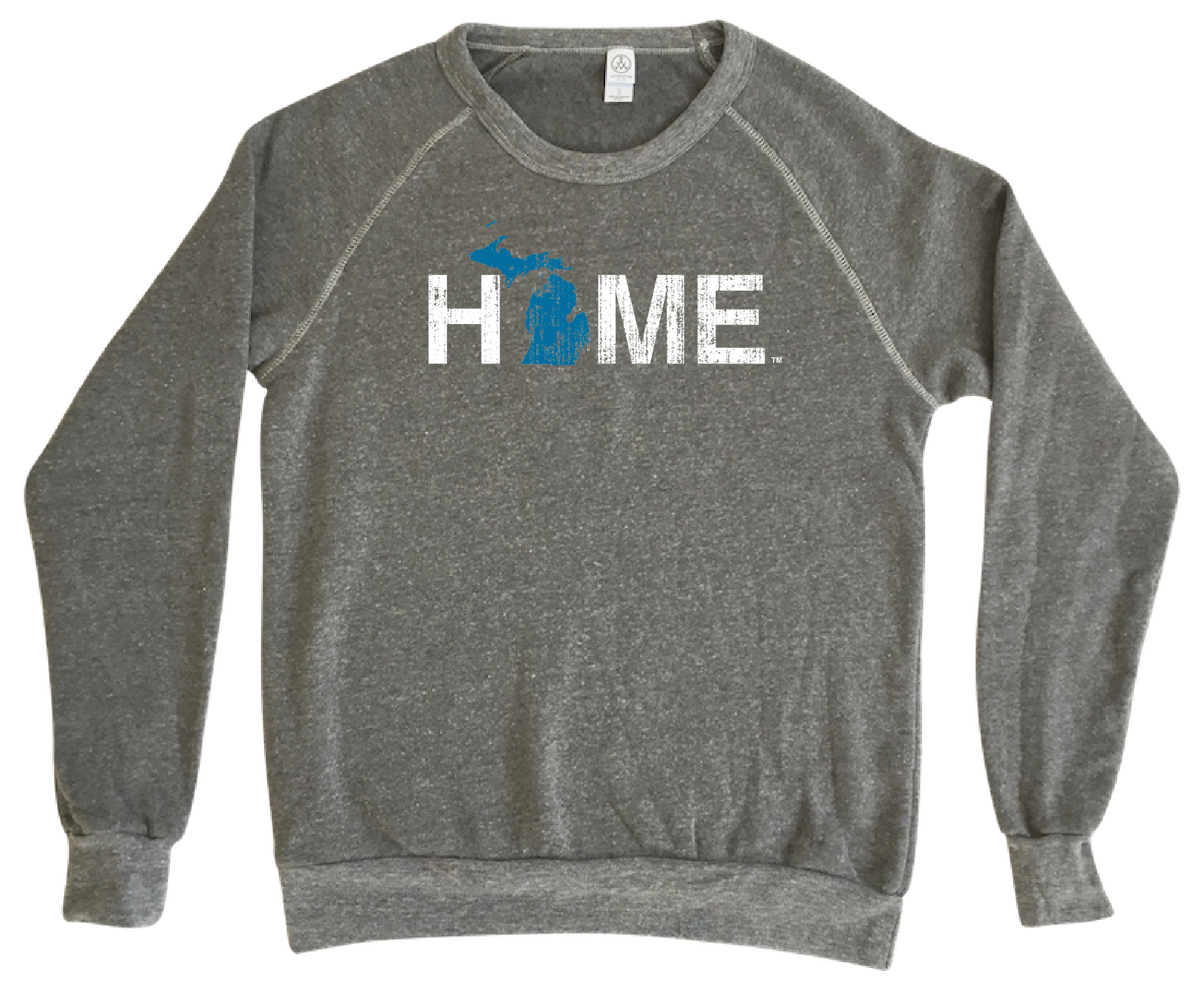 MICHIGAN SWEATSHIRT | HOME | BLUE