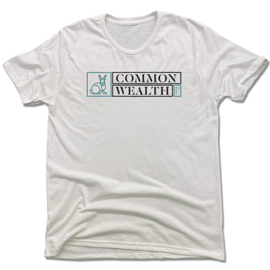 COMMON WEALTH | UNISEX WHITE Recycled Tri-Blend | RABBIT