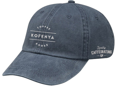 KOFENYA COFFEE | EMBROIDERED ROYAL HAT | WHITE LOGO