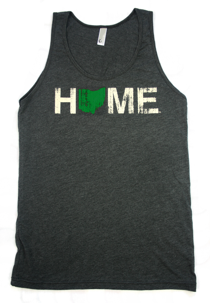 Ohio Tank | Green/Eggshell
