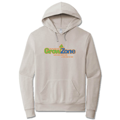 WHITE OAK CHRISTIAN CHURCH | LIGHT GRAY FRENCH TERRY HOODIE | GROW ZONE