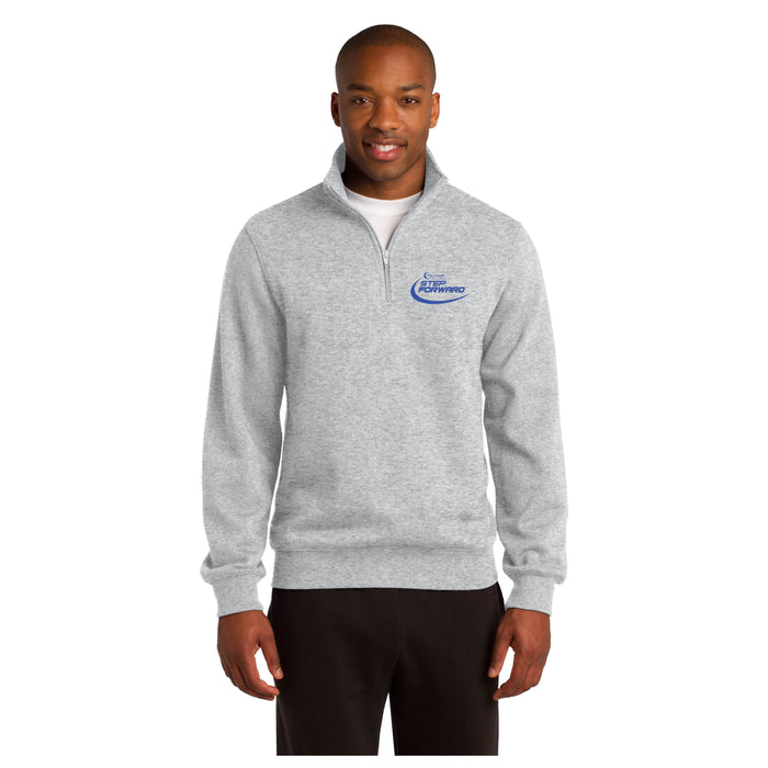 Step Forward Quarter Zip Sweatshirt