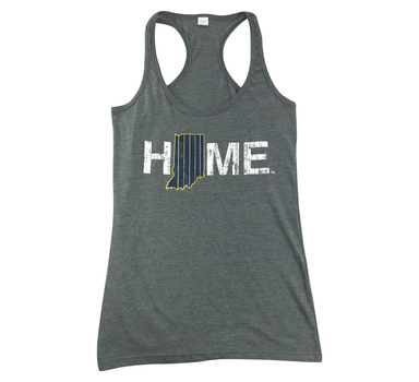 Ladies' Indiana Tank | Navy/Gold