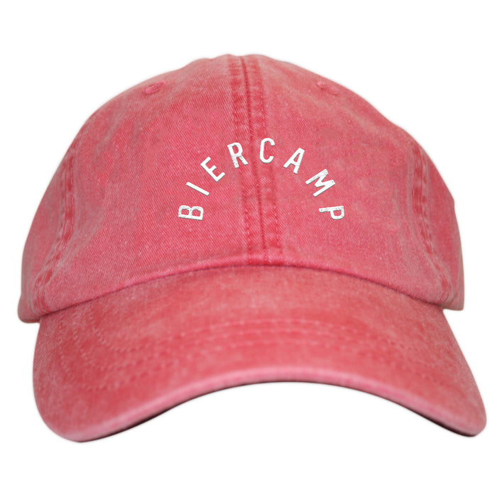 BIERCAMP | EMBROIDERED NAUTICAL RED HAT | LOGO