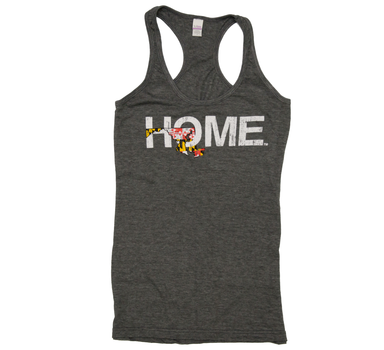 Ladies' Maryland Tank | Flag | Red/Yellow