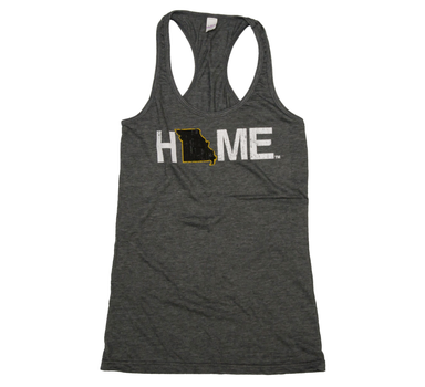 MISSOURI LADIES TANK | HOME | BLACK/GOLD