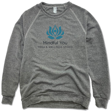 MINDFUL YOU YOGA & WELLNESS | FLEECE SWEATSHIRT | COLOR LOGO