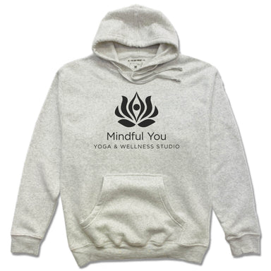 MINDFUL YOU YOGA & WELLNESS | HOODIE | BLACK LOGO